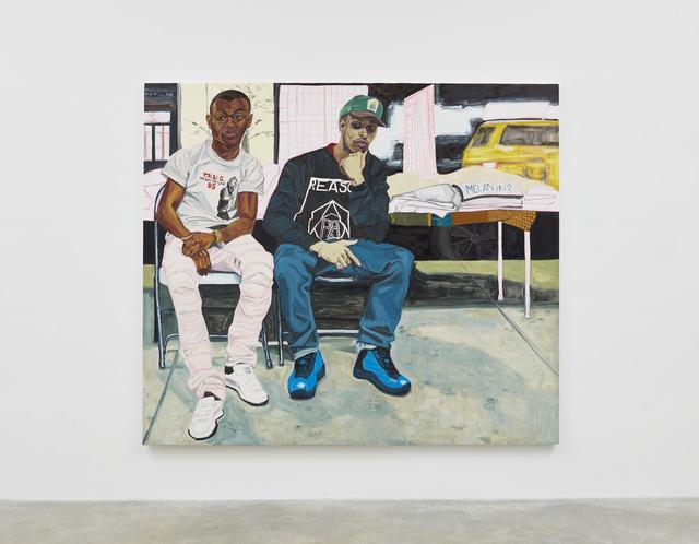 , 'MegaStarBrand's Louie and A-Thug,' 2017, Casey Kaplan