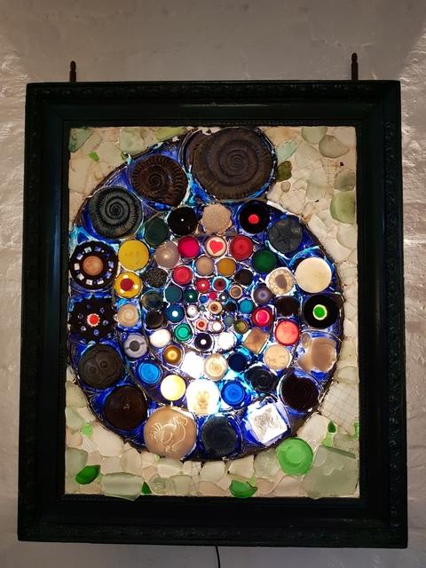 Philip Hardaker, 'Ammonite Plastic Sea', 1995, Barewall Art Gallery