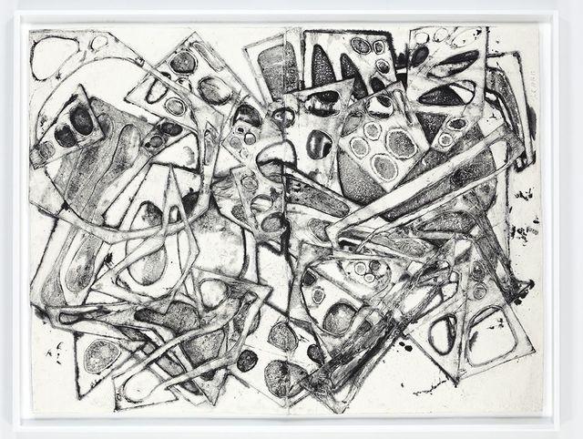 , 'Double Water Drawing 10/16/13 (E),' 2013-2015, David Nolan Gallery