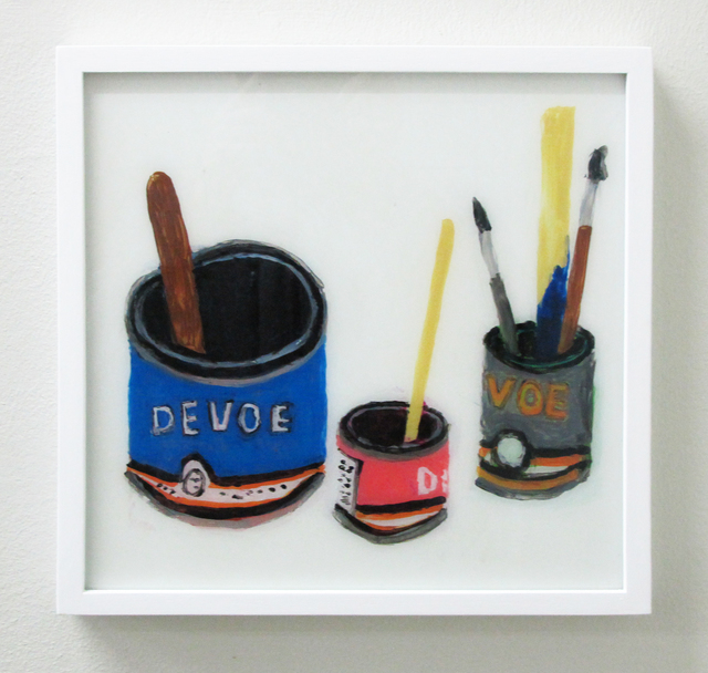 , 'Devoe Paint Cans With Brushes,' 2016, V1 Gallery