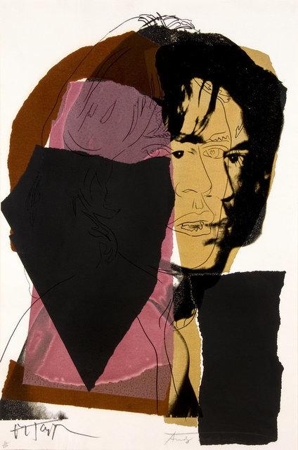Andy Warhol, 'Mick Jagger (F. & S. II.139)', 1975, Print, Screenprint on Arches Aquarell Paper, David Benrimon Fine Art