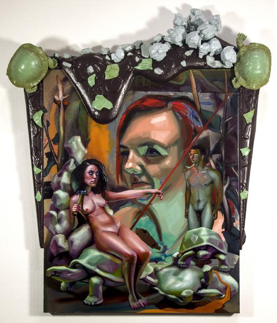 , 'Deposition of the Turtle Queen,' 2016, Linda Matney Gallery