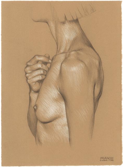 , 'Manou, Hand on Chest,' 2018, Jenn Singer Gallery