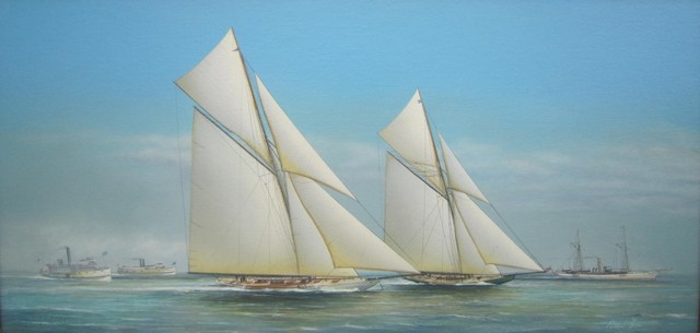 Richard Lane, 'Columbia to the Finish Line', 2018, J. Cacciola Gallery