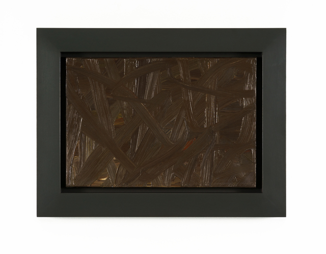 Gerhard Richter, 'Inpainting (brown)', 1972, Painting, Oil on canvas, Galerie Andreas Binder
