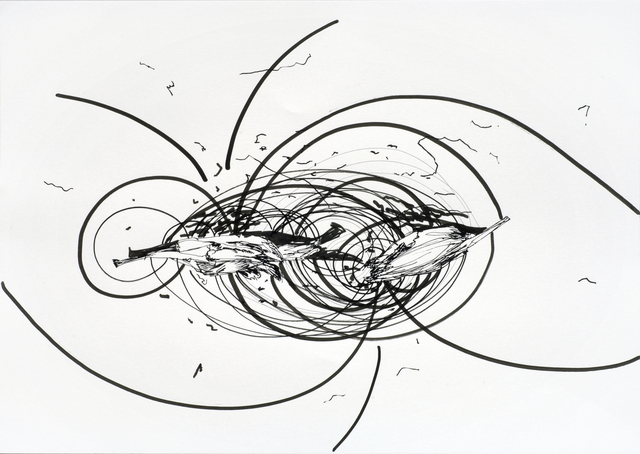 , 'Magnetic heart 55,' 2008, Galleri Bo Bjerggaard