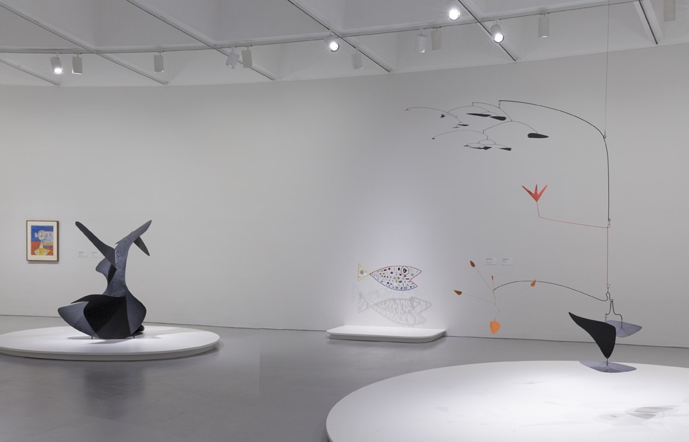 Installation photograph, Marvelous Objects: Surrealist Sculpture from Paris to New York. Photo courtesy Cathy Carver.