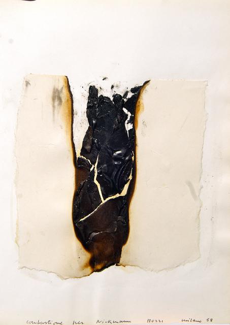 Alberto Burri, 'Combustione', 1968, Bugno Art Gallery