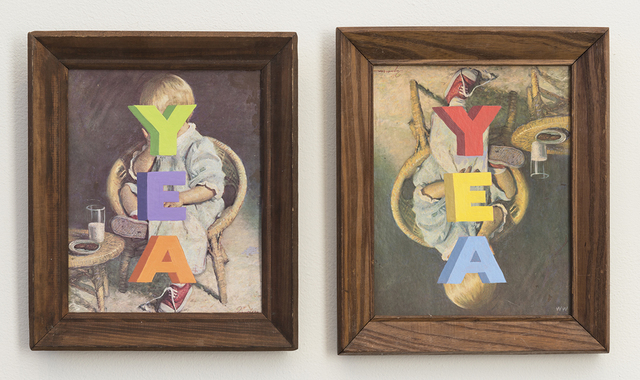, 'YEA YEA,' 2016, Joshua Liner Gallery