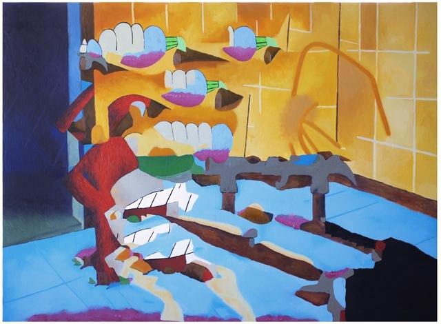 , 'Body with Hammer,' 2016, Galerie Gabriel Rolt