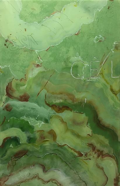 , 'Young ruins - onyx vert - CEL,' 2015, Galerie Laurent Godin