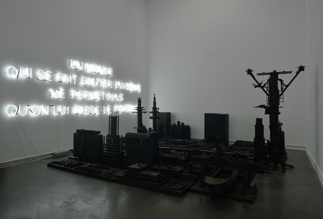 , '2235 après J.-C.,' 2001, Galerie Mitterrand