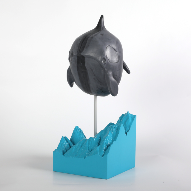 , 'Compressed Killer Whale,' 2018, GCA Gallery