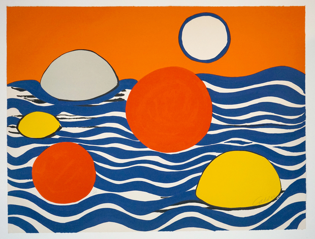 , 'Circles and Waves ,' 1970, Pascal Fine Art