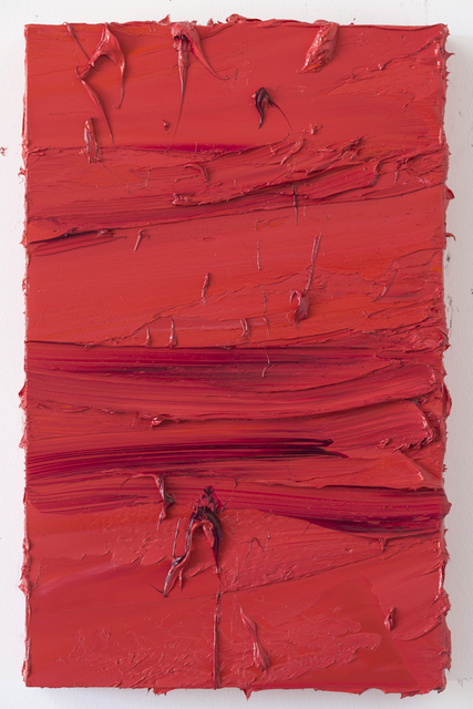 Jason Martin, 'Untitled (Madder Carmine/Brilliant Pink)', 2017, Painting, Oil on aluminium, Mimmo Scognamiglio / Placido