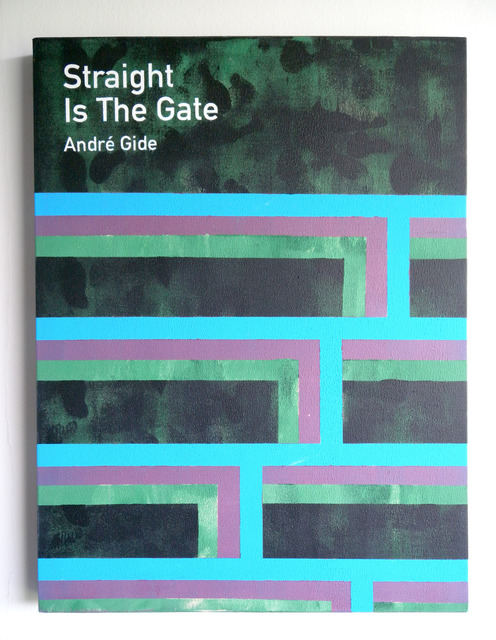 , 'Straight Is The Gate / André Gide,' 2013, Anna Schwartz Gallery