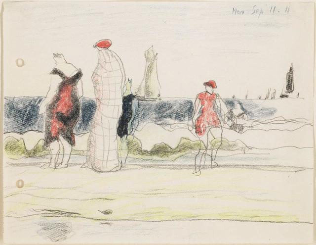, 'Strandszene mit Badenden,' 1911, Henze & Ketterer