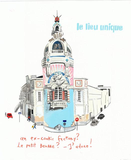 , 'Le Petit Paris,' 2013, Gavlak