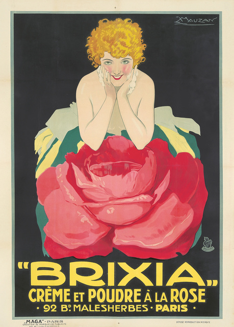 Luciano Achille Mauzan, 'Brixia / Crème et Poudre à la Rose.', ca. 1924, Rennert's Gallery