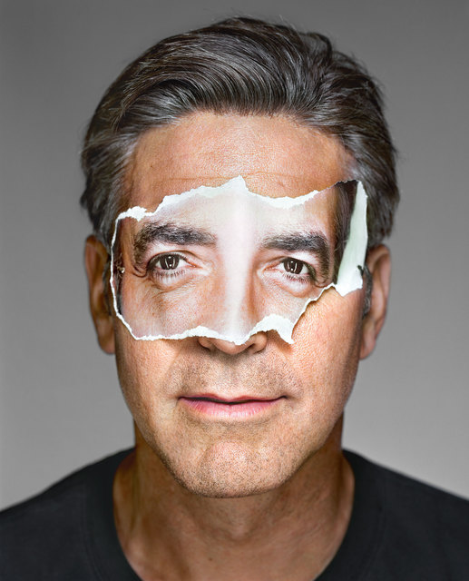 Martin Schoeller, 'George Clooney with Mask, Brooklyn', 2008, Ostlicht. Gallery for Photography