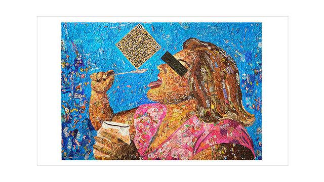 , 'Violencia Oral,' 2013, Disruptive Canvas