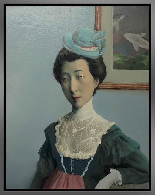 Jeffrey Chong Wang, 'The Lady', 2018, Painting, Oil on Canvas, ARCADIA CONTEMPORARY