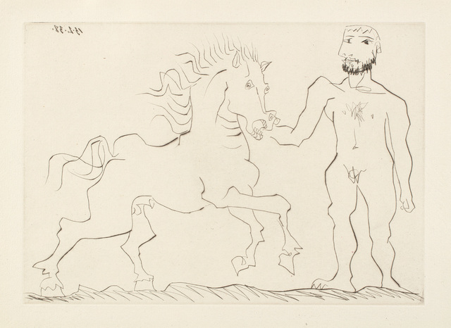 Pablo Picasso, 'Nu debout et cheval (Standing Nude and Horse)', 1938/1942, Phillips