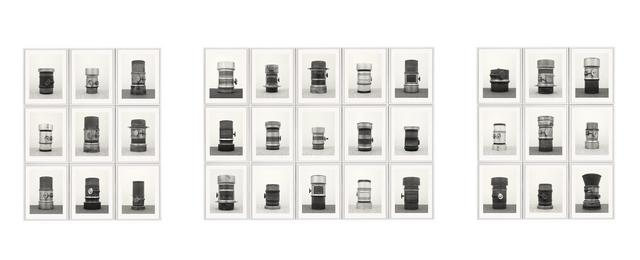 , 'Objecktiv, After Bernd & Hilla Becher,' 2015, Galerie Christophe Gaillard
