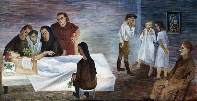 , 'The Recovery Room,' 1944, Anna Zorina Gallery