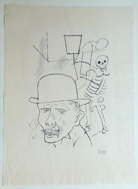 George Grosz, 'Death in the Street', 1924, Gilden's Art Gallery