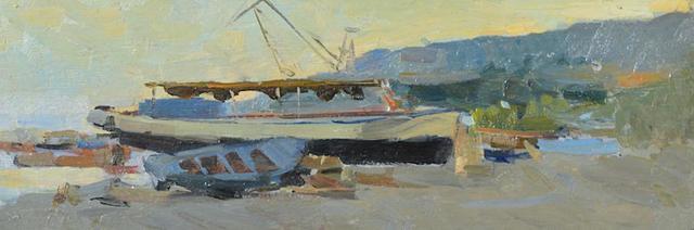Fedor Zakharov, 'The Boat', Gallery 901