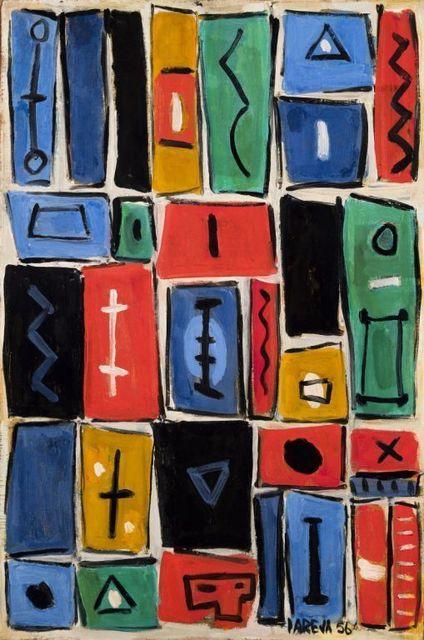 , 'Composición mural II,' 1956, Galeria Sur