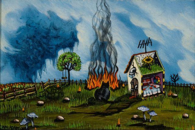 , 'Fire Proof,' 2016, LeMieux Galleries