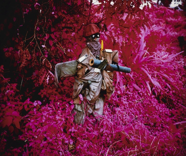 Richard Mosse, ''Better Than the Real Thing (Infra series)'', 2011, Sotheby's