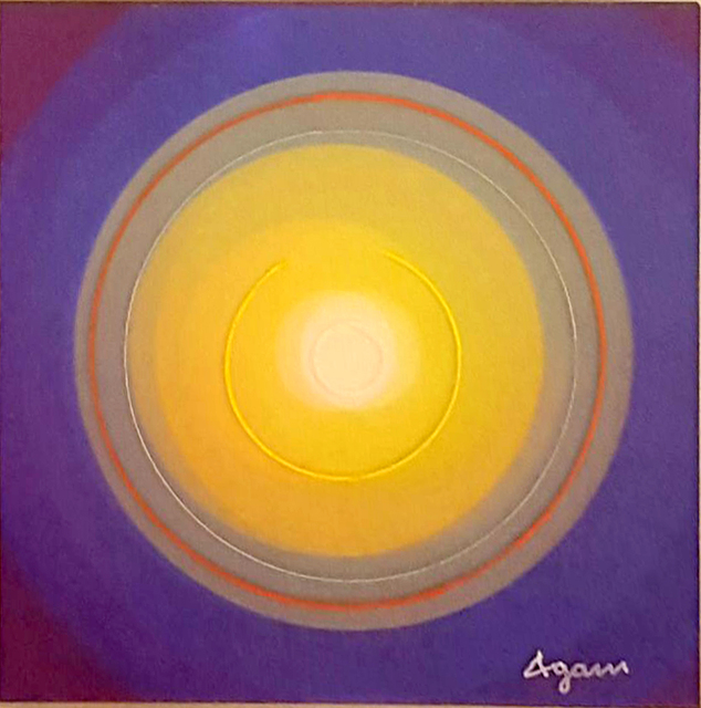 Yaacov Agam, 'New Born Star ', 2016, Bruno Art Group