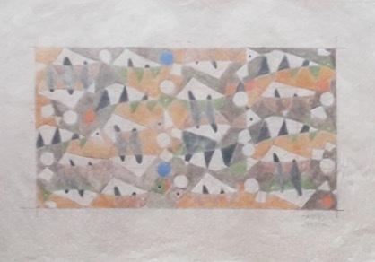 , 'Project for Mural: AZULEJO,' 1953, Pablo Goebel Fine Arts