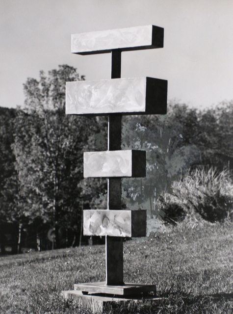 , 'Four Units Unequal,' 1960, Bruce Silverstein Gallery