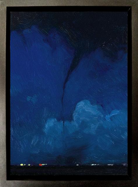 John Brosio, 'Tornado Study 4', 2018, Painting, Oil on Panel, ARCADIA CONTEMPORARY