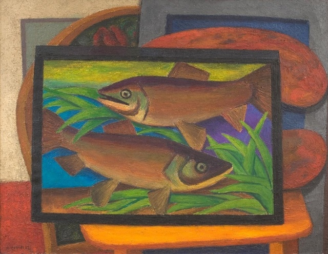 , 'Fishes,' 1937, Piano Nobile
