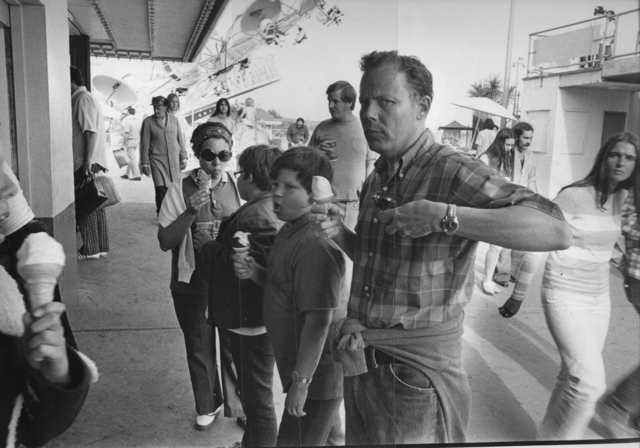 Mike Mandel, 'The Boardwalk Series', 1974, Robert Mann Gallery