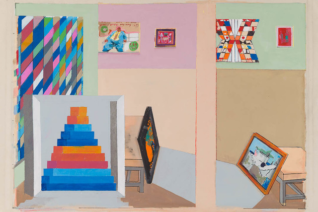 , 'The Museum of Post Cubist Painting,' 2017, Candida Stevens Gallery
