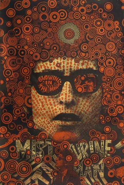 Martin Sharp, 'Blowing in the Mind/Mister Tambourine Man (poster)', 1968, Cooper Hewitt, Smithsonian Design Museum