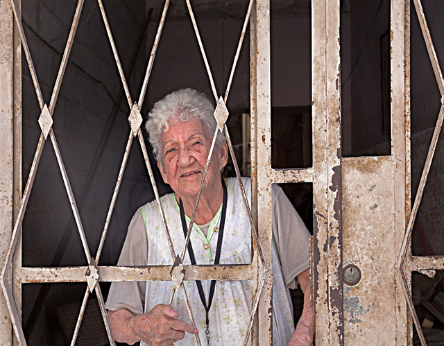 , 'Woman Behind Entryway Gate,' , Soho Photo Gallery