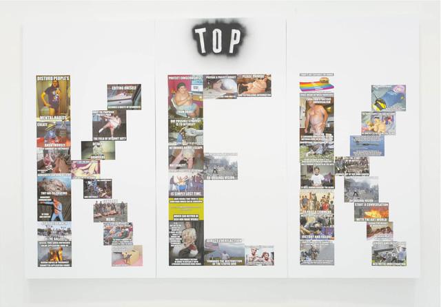 Mark Flood, 'TOP KEK', 2015, The Hole