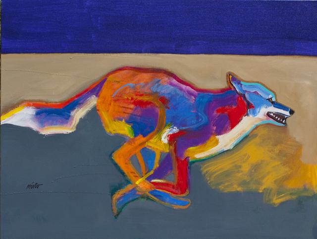 , 'Running Coyote,' 2017, Ventana Fine Art
