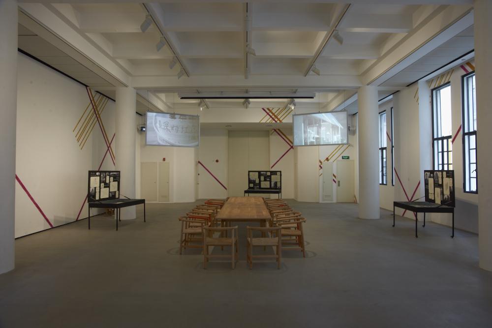 , 'Workers' Club - Dining Set,' 2012, Rockbund Art Museum