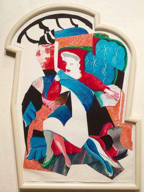 David Hockney, 'An Image of Celia, State II, from Moving Focus', 1984-1986, Leslie Sacks Gallery