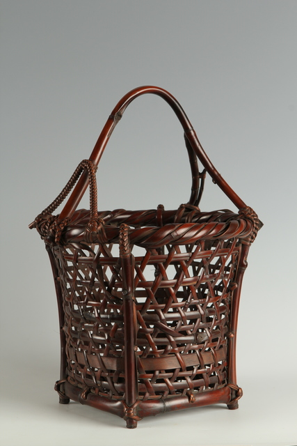 , 'Bamboo Basket (T-3676),' Showa era (1926-89) 1930s, Erik Thomsen