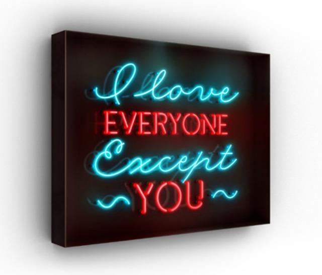 David Drebin, 'I Love Everyone Except You', 2016, ArtLife Gallery