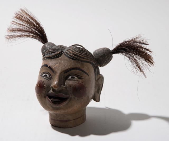 'Tongan Novelty Carved Head', Doyle